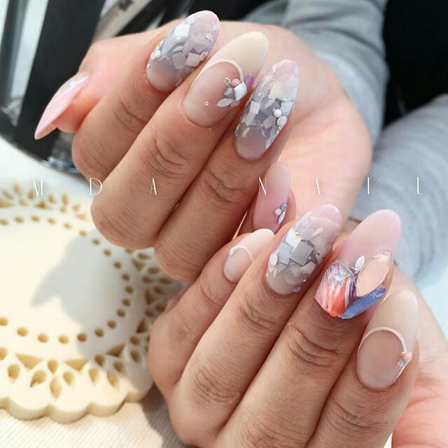 Pin by Claudia Guisao on Japanese Nail Art | Pinterest | Japanese ...