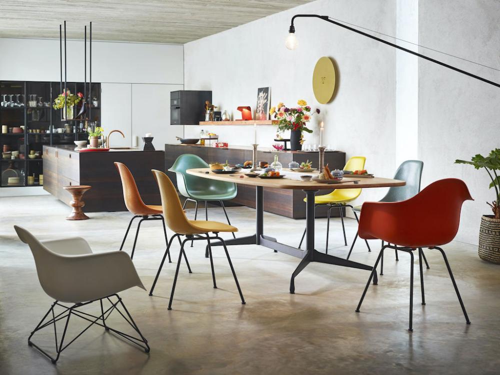 Vitra Home Stories Kleine Designgeschichten Eames Dining Chair Eames Dining Eames Plastic Chair
