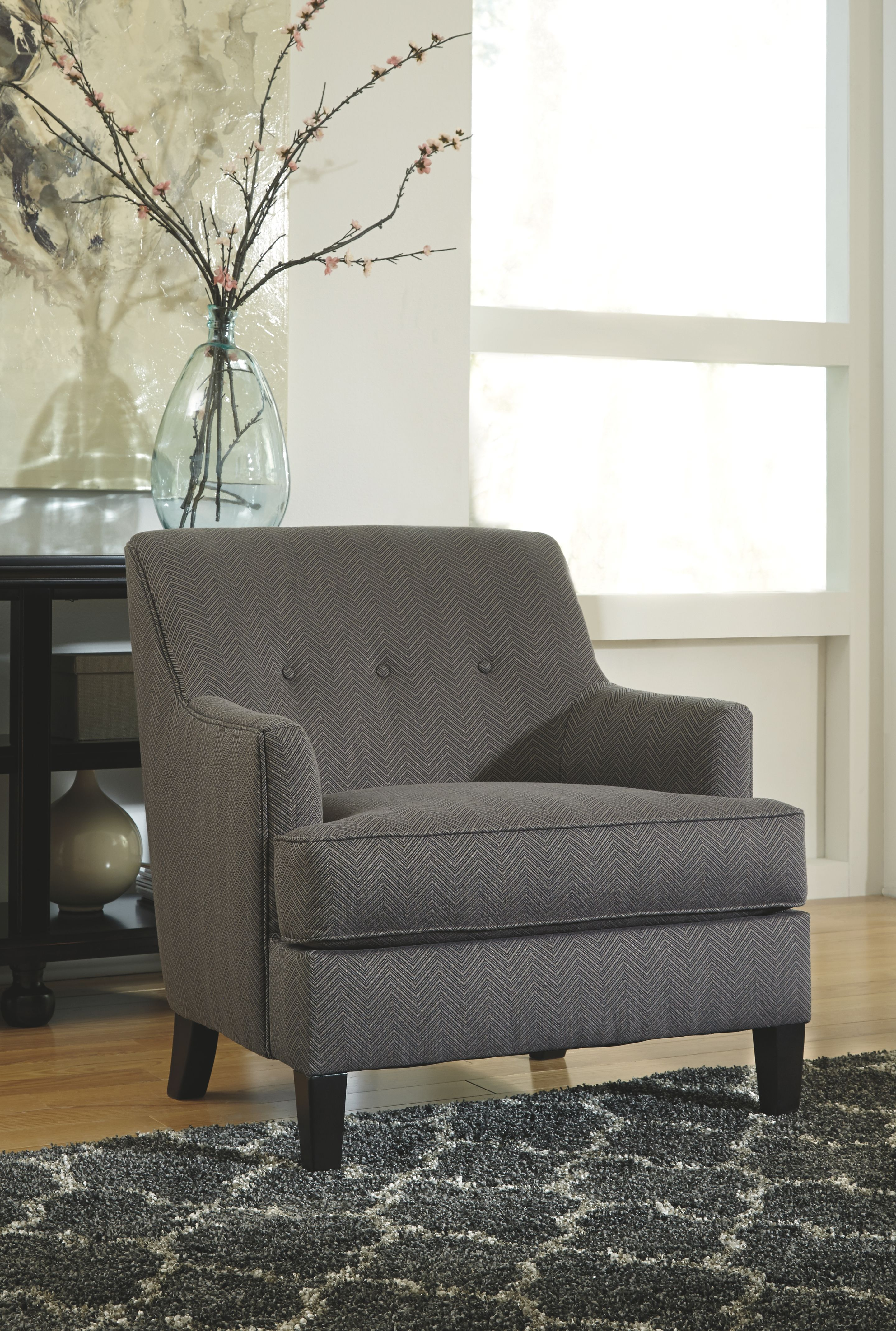 Crislyn accents chair smoke
