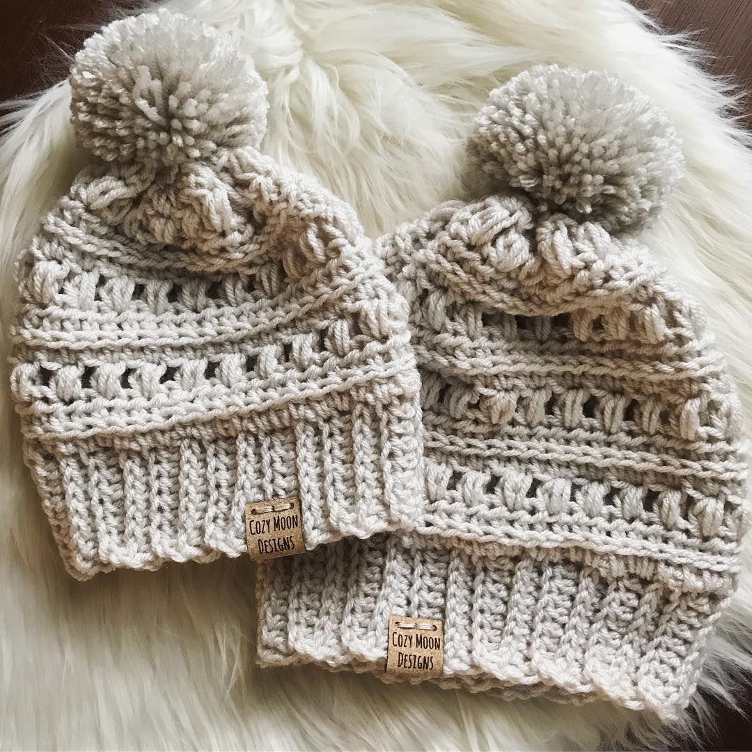 45 modèles de bonnets au crochet gratuits pour le nouvel an 2019 - Page 13 of 47 | Bonnet ...