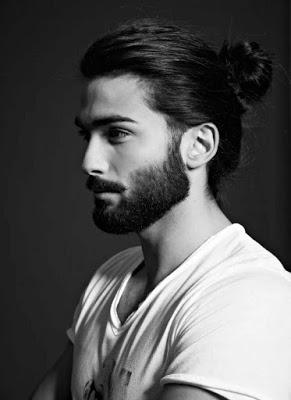اشيك صور الشباب الجديدة Long Hair Styles Men Man Bun Hairstyles Beard Styles For Men