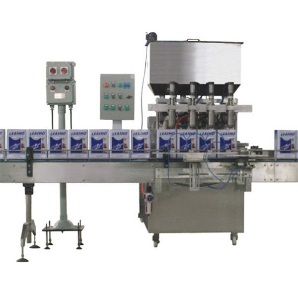 Automatic Paint Filling And Capping Line Bottle Filling Manufacturing Plant