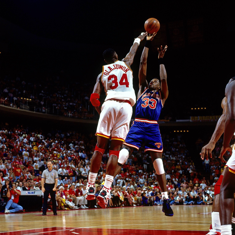 08e77297d Patrick Ewing vs Hakeem Olajuwon during Game Seven of the 1994 NBA Finals.