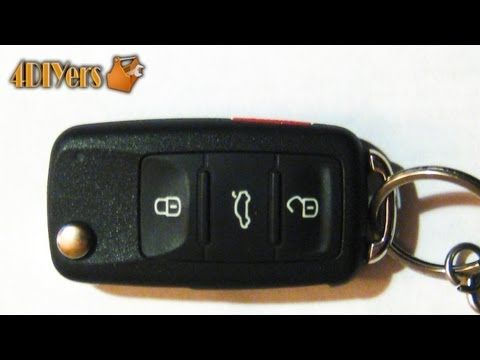 DIY Volkswagen Key Fob Battery Replacement Disassembly Audi - Audi car key battery
