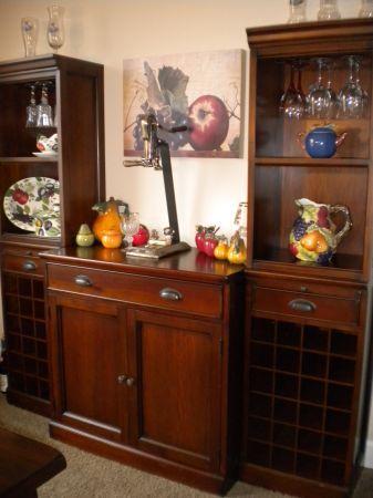 Pottery Barn Modular Bar Buffet Home Decor Interior Custom Bar