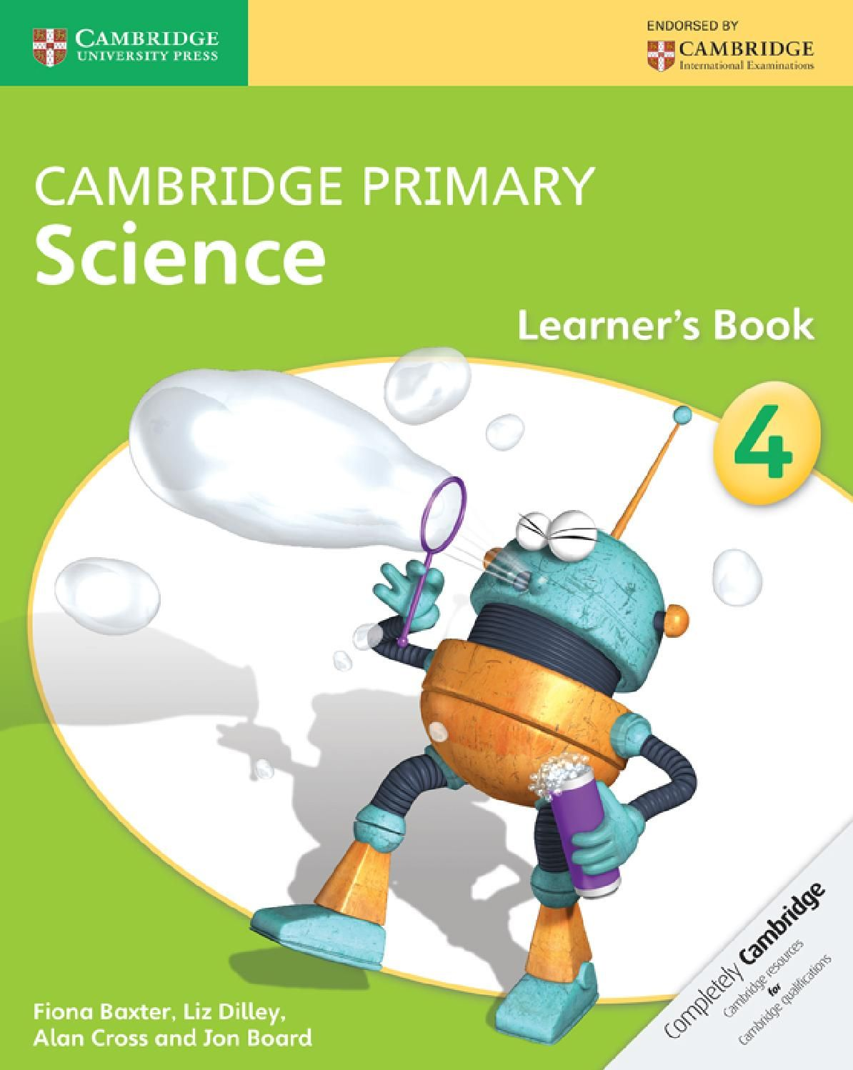 Cambridge Primary Science Learner S Book Stage 4
