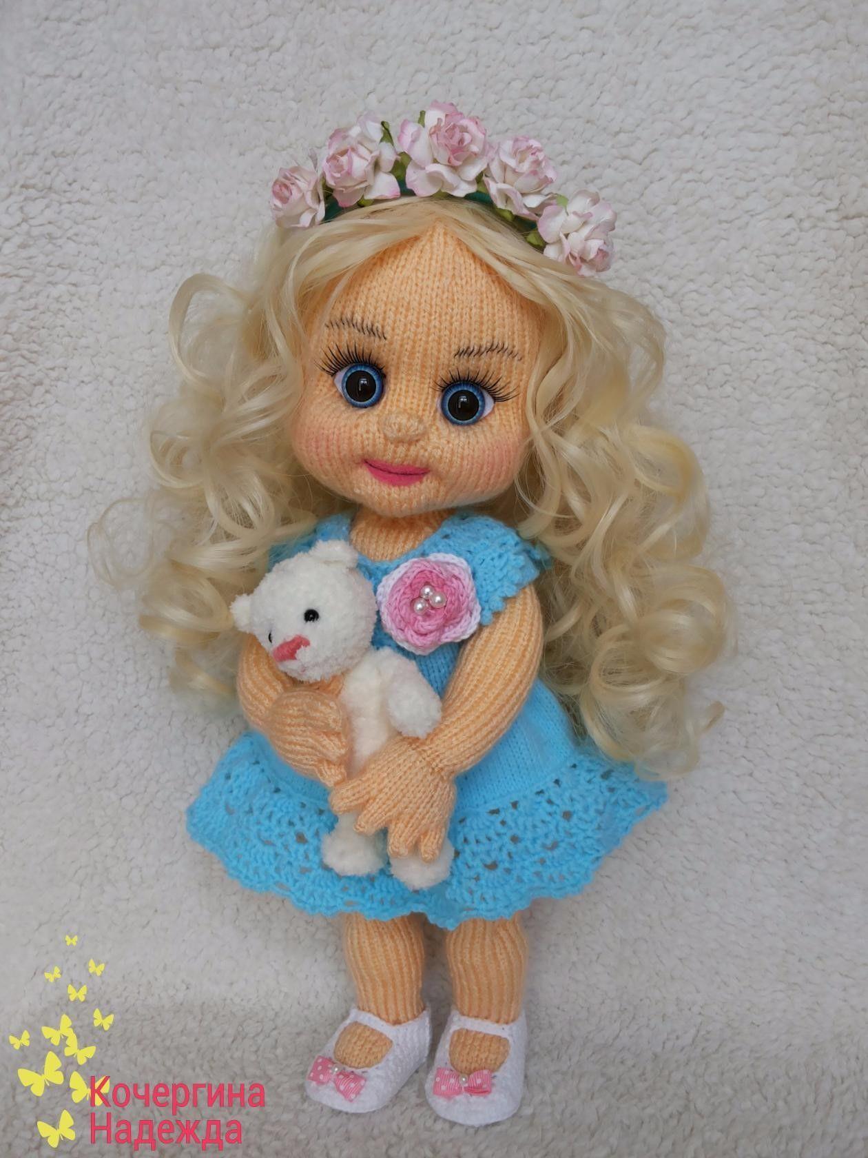 Фотография   Куклы ручной работы, Схемы вязания кукол