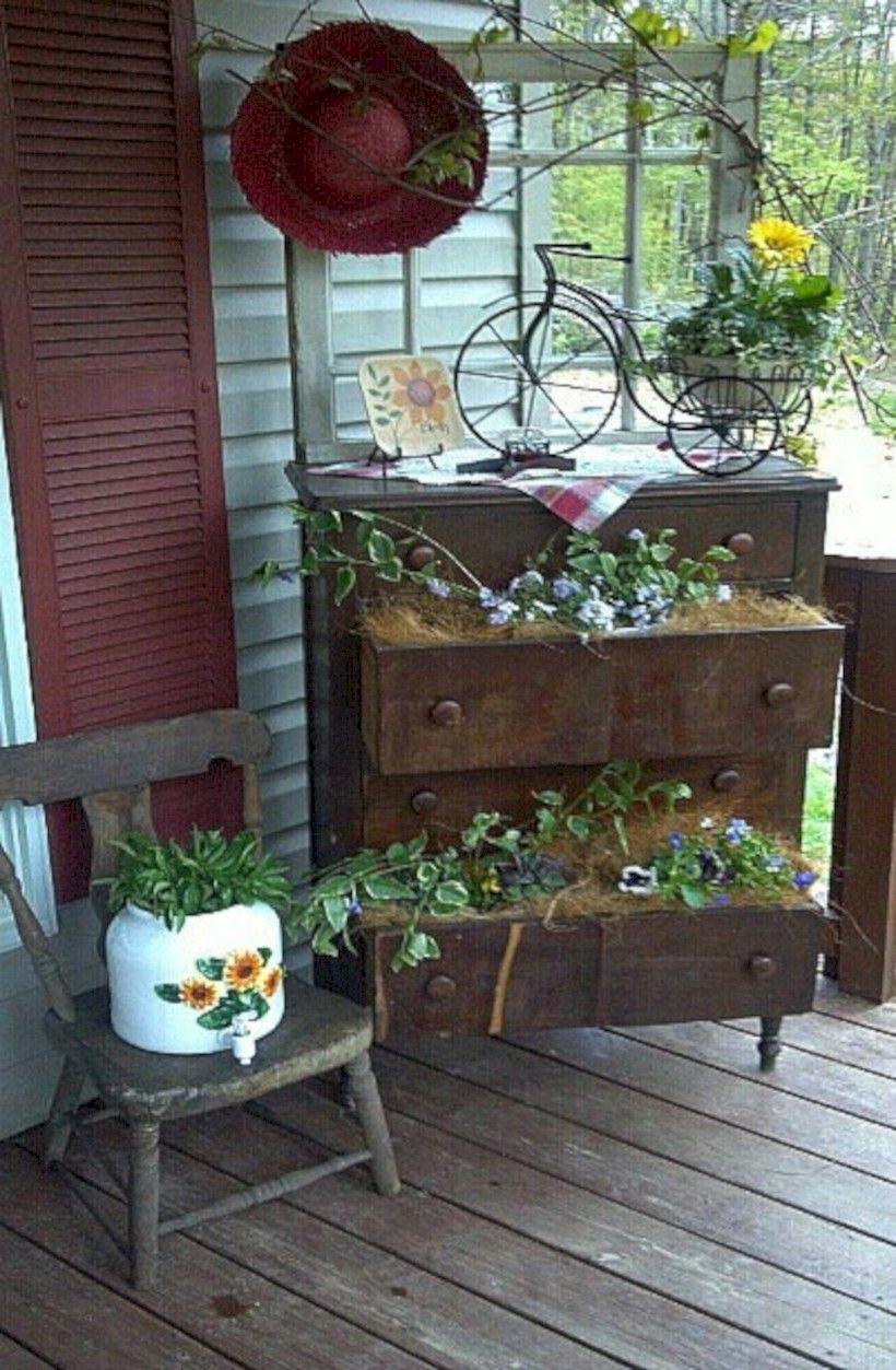 35 brilliant diy farmhouse porch decoration ideas with