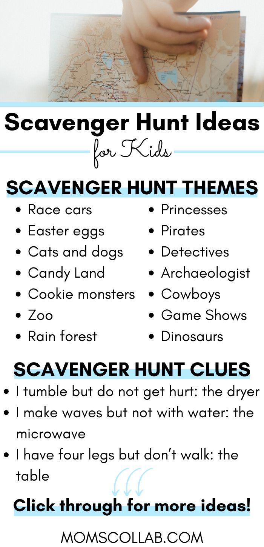 5 Steps to an Indoor Scavenger Hunt for Kids