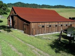 Corten Roofing On Barn Colorado Homes Copper Roof Roofing