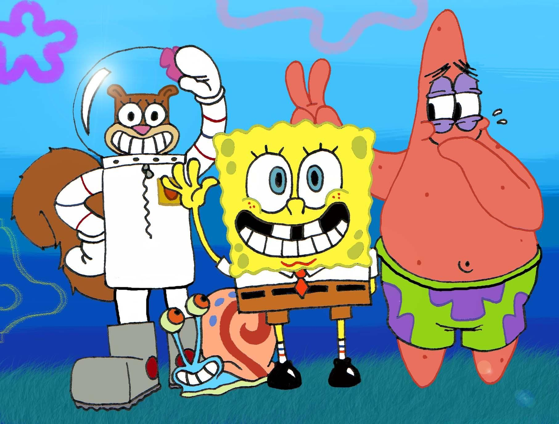 Spongebob Squarepants Wallpaper Images Background 66845 Ehiyo Com
