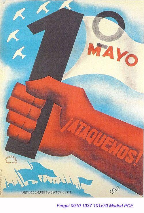 Spain - 1937. - GC - poster - Fergui