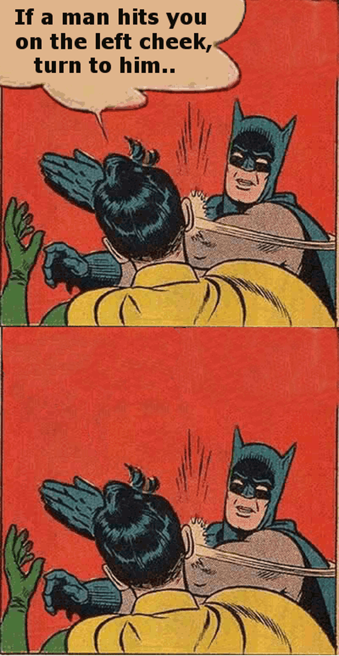 Batman Slapping Robin Meme Generator Imgflip Batman Slapping