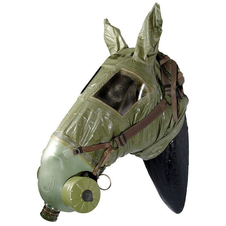 horse gas mask ww1 character project pinterest