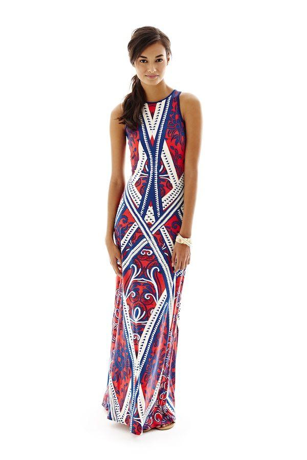Bisou Bisou Printed Maxi Dress Fashion Favorites