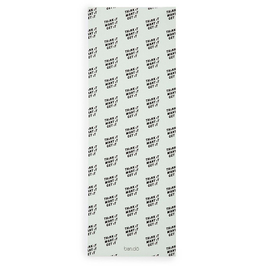 work it out exercise mat - think it want it get it | Mat ...