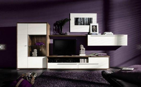 Modern-purple-living-room-design-from-Hulstajpg (590×362) Flat - hülsta möbel wohnzimmer