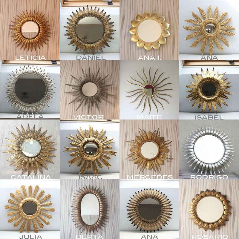 Espejos mirrors archivos p gina 3 de 8 vintage - Ideas para decorar una casa pequena ...
