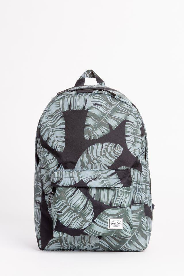 4dc42673519 Herschel Supply Co Classic Backpack - Black Palm Home Herschel ...