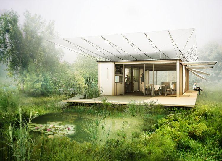 Philippe rizzoti maison d 39 eau exterior renders - Eau arquitectura ...