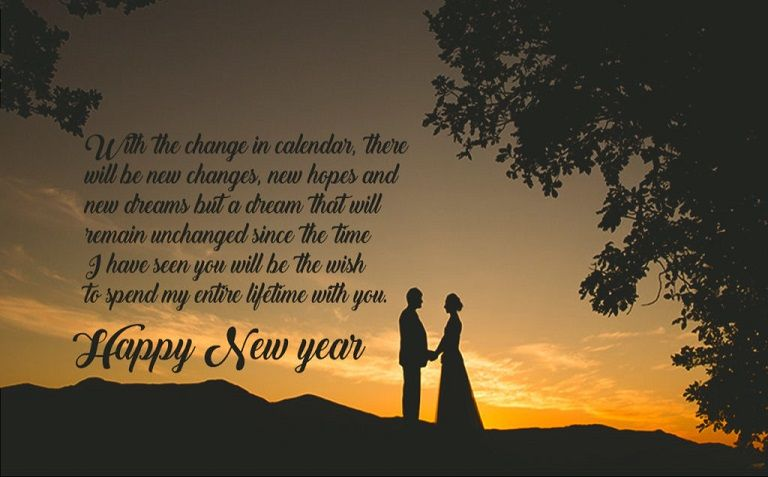 Happy New Year Messages To Wife 2017   Happy New Year My Love 2018    Pinterest   Messages