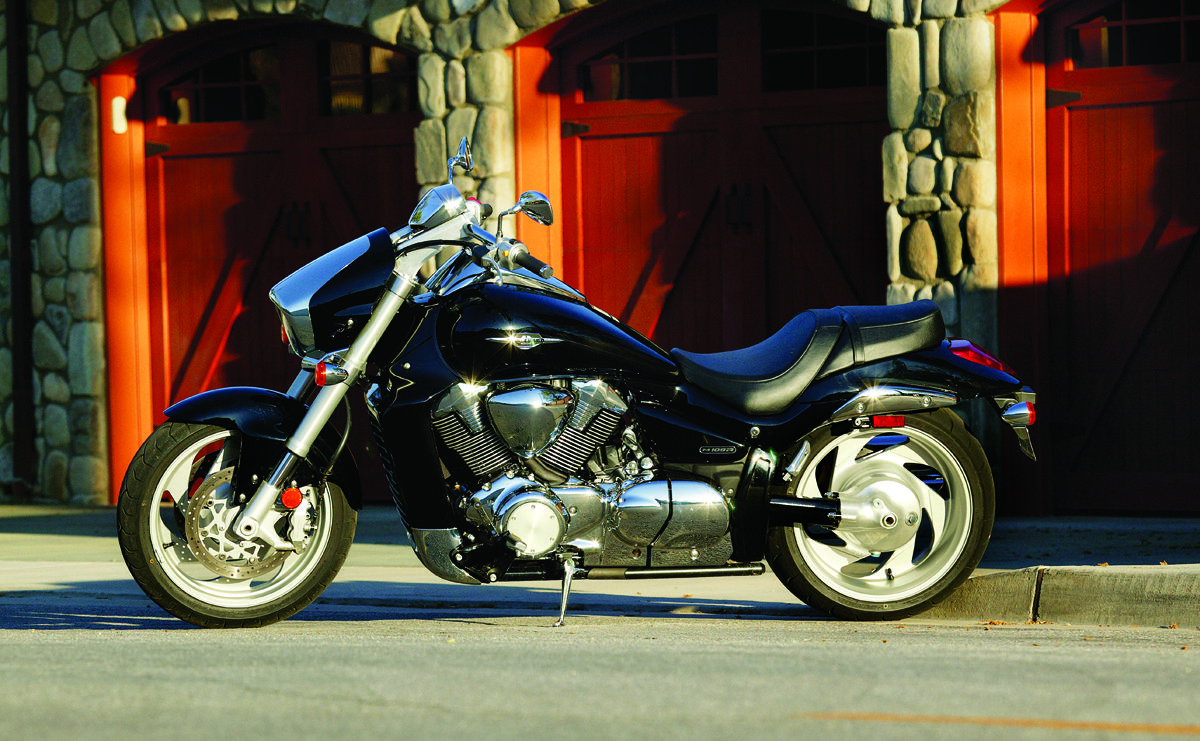 2006 Suzuki Boulevard M109, featured in the July 2006 issue of Rider magazine.