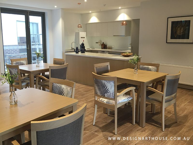 Aged Care Dining Room Decor And Custom Made Dining Chairs Aged Classy Pictures Of Decorated Dining Rooms Inspiration