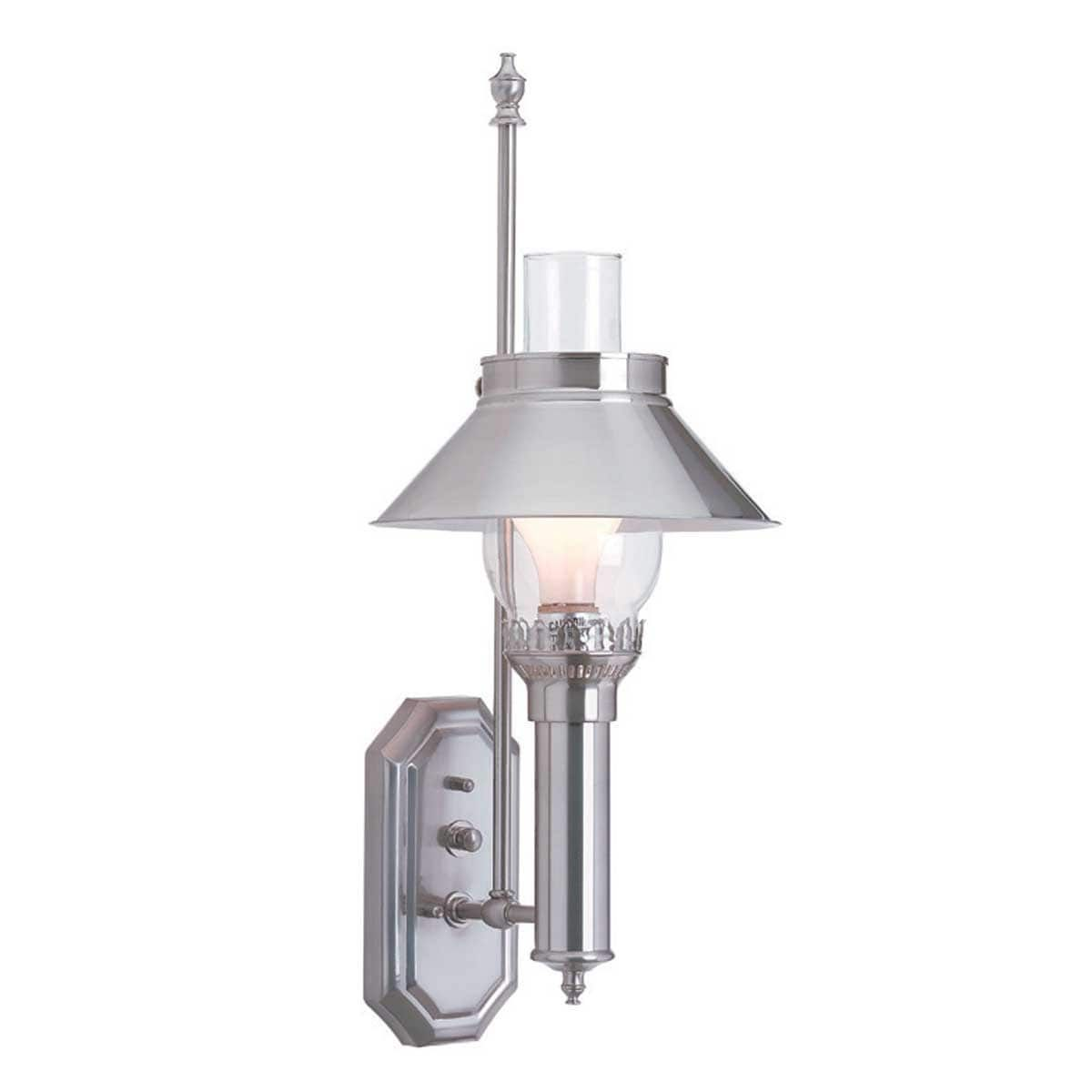 Sconces Silvertone Solid Br Anic Wall Sconce