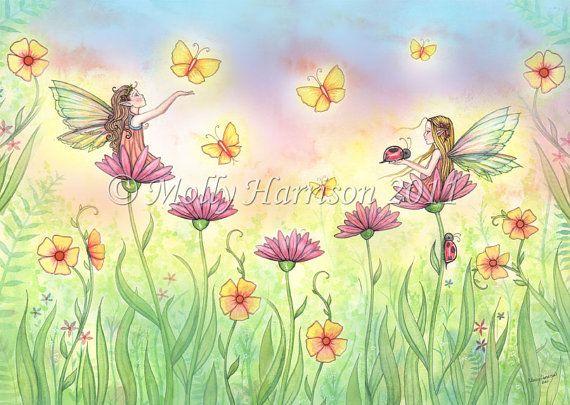 Molly Harrison~Fairies