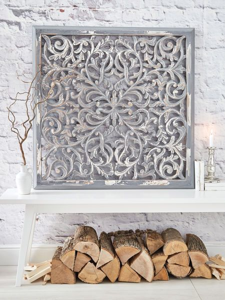 Large Carved Wall Panel Design 1 Gl