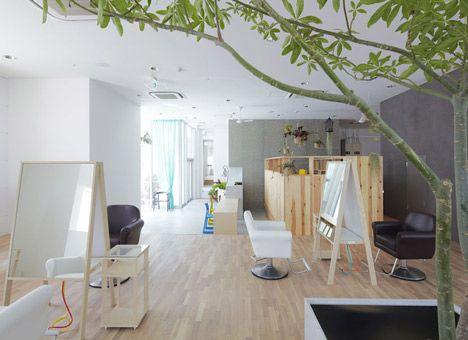 Le Cinq by Ninkipen!   Office   Japanese hair salon, Hair salon ...