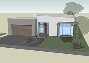 The GEO is a very distinctive single storey, three or four bedroom design which suits various sites regardless of orientation.