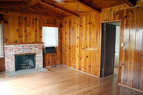 Floors For Wood Paneling Wood Paneling To Beautify