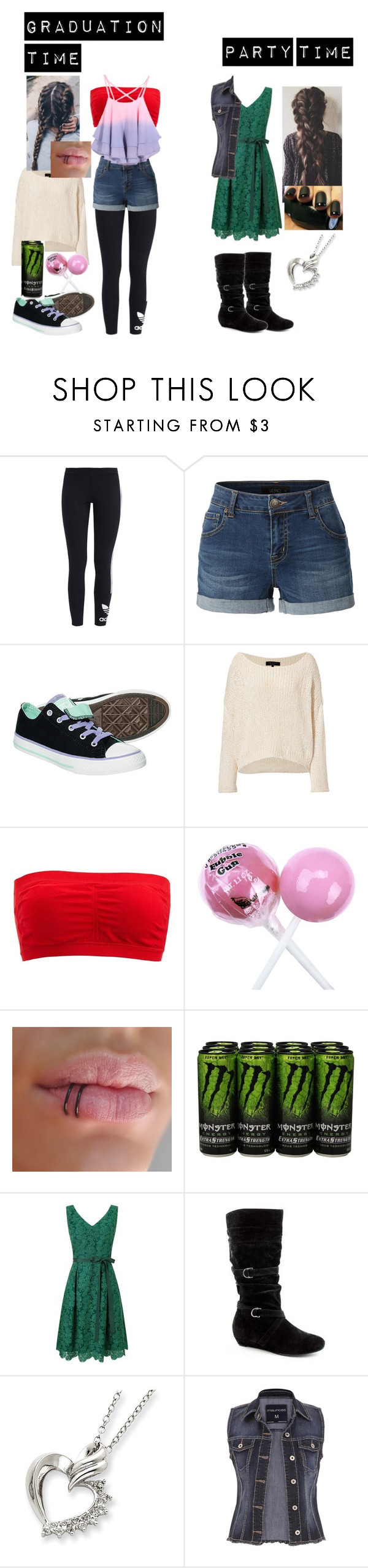 """OMG rtd"" by bubble-loves-you ❤ liked on Polyvore featuring adidas Originals, LE3NO, Converse, rag & bone, Charlotte Russe, Phase Eight and maurices"