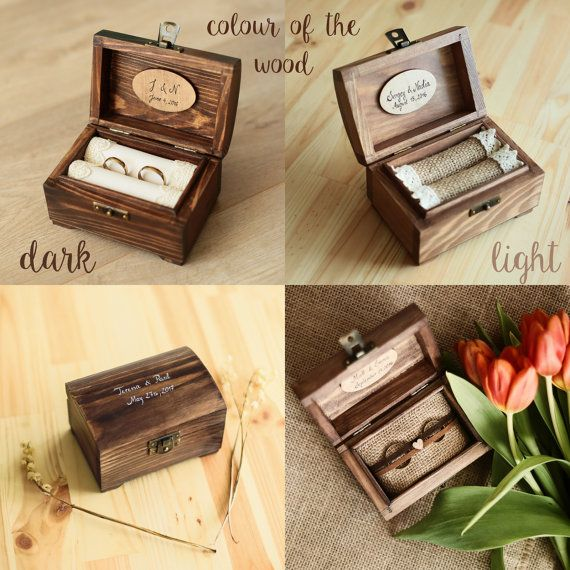 Personalized Wedding Ring Box Wooden Ring Box Ring Holder Etsy In 2020 Wooden Ring Box Wedding Ring Box Personalised Wedding Ring Boxes