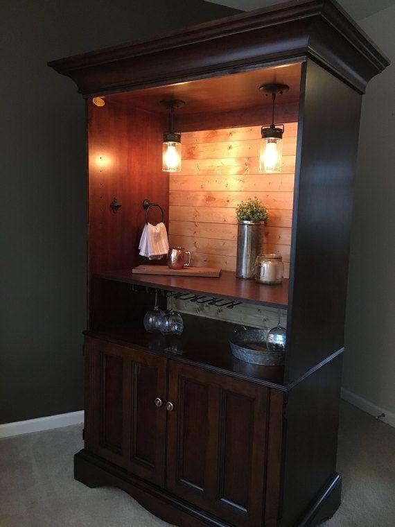 Living Room Wine Chiller Custom Order Armoire Bar Cabinet Dimensions Liquor Cabinets
