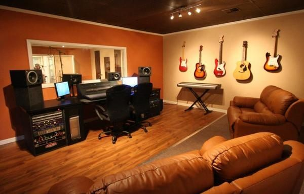 Home Recording Studio Layout Ideas