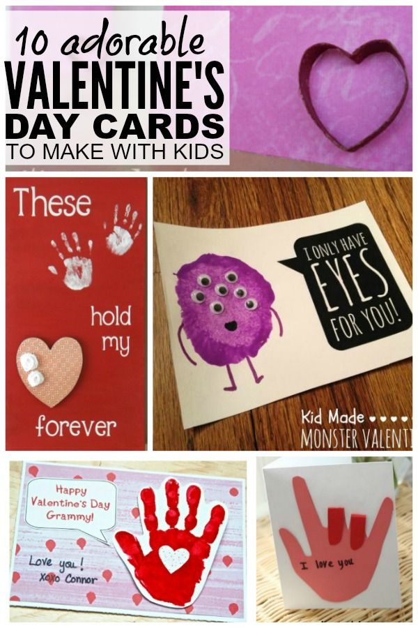 10 adorable diy valentineu0027s day cards to make with your kids diy valentines day cards