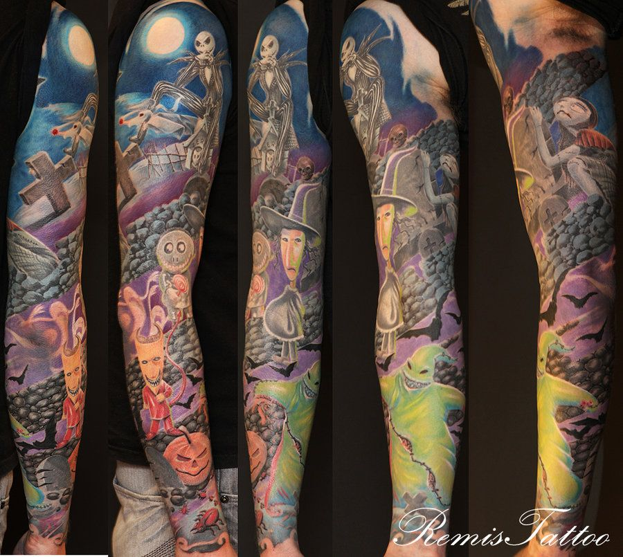 Nightmare Before Christmas sleeve. Artist: Remigijus Cizauskas