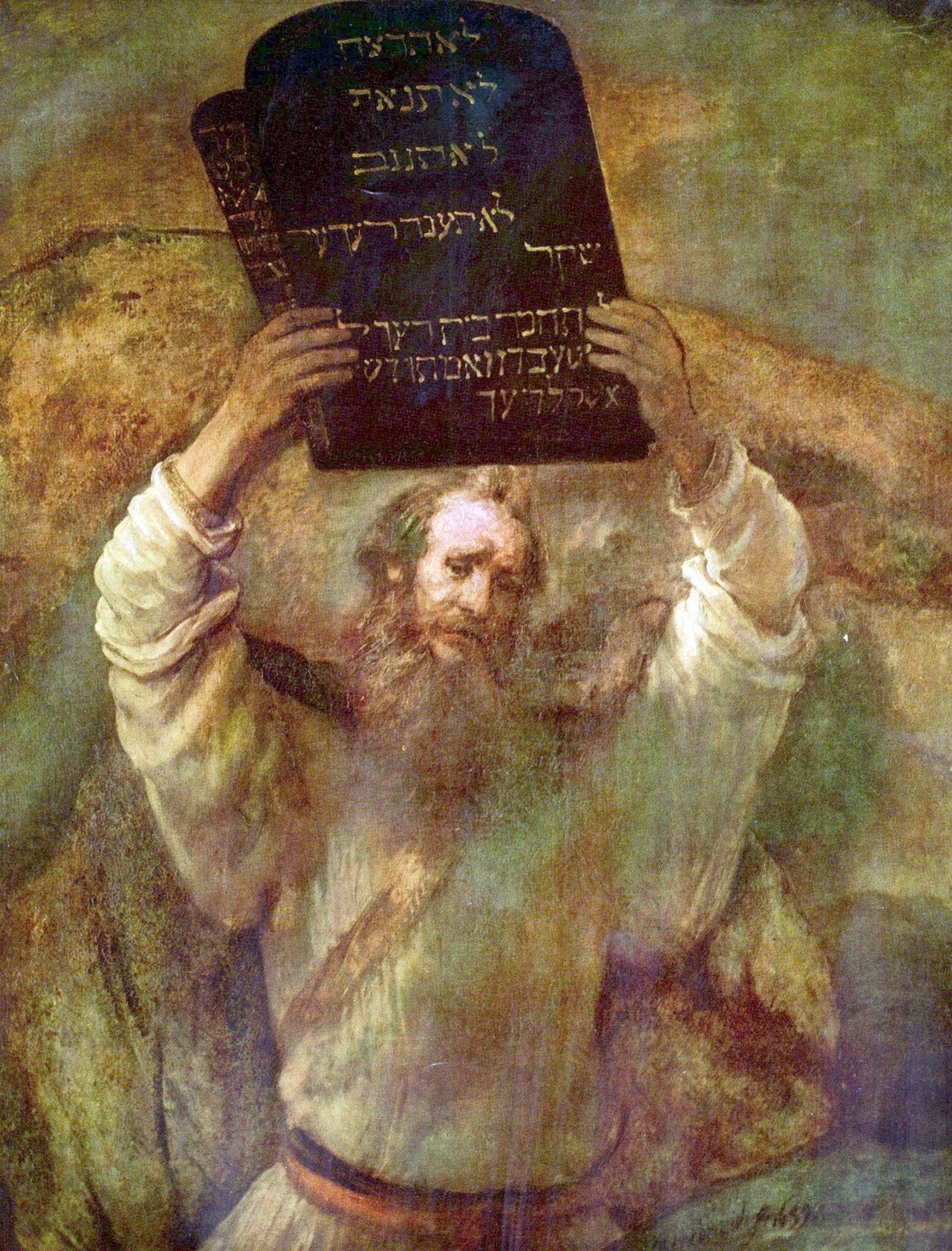 Moses Wrote Of Me