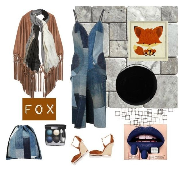 """foxy"" by michellesivo on Polyvore featuring interior, interiors, interior design, home, home decor, interior decorating, Ciaté, Crate and Barrel, MANGO and Milk It"