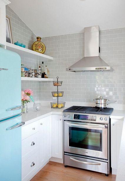 Inspiraci n para cocinas peque as cocinas pinterest for Cocinas modernas chicas