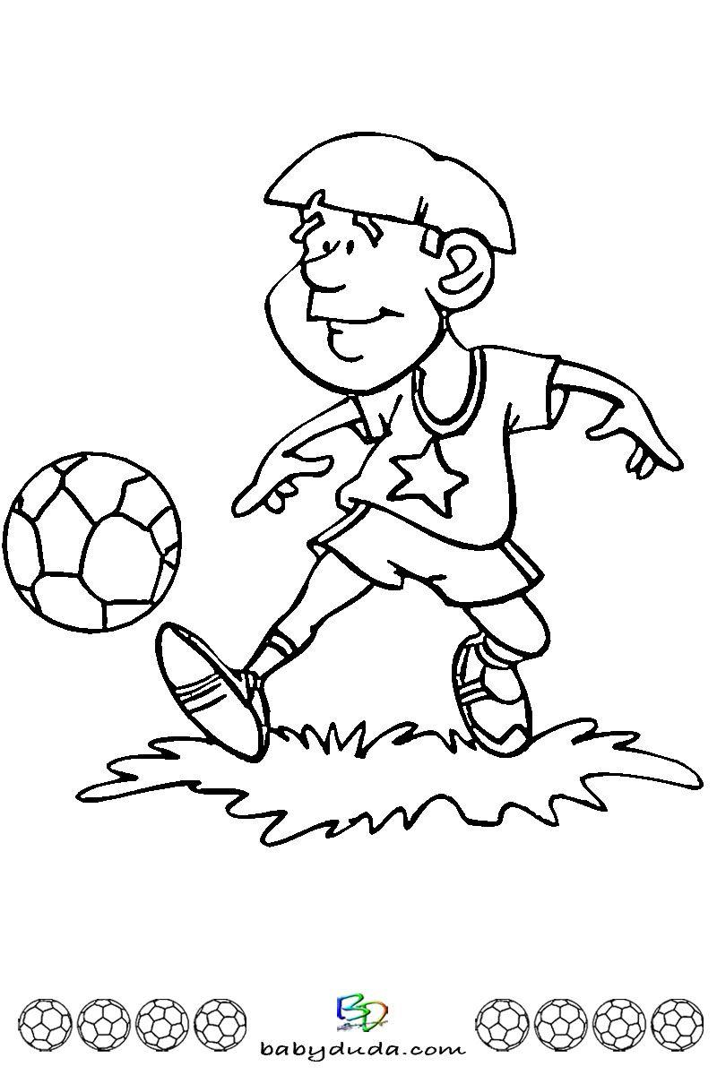fußball ausmalbilder ⚽ spielfeld ball  fußballfieber