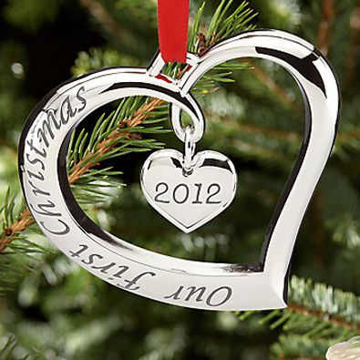 Lenox Forevermore 2012 Our First Christmas Ornament # ...