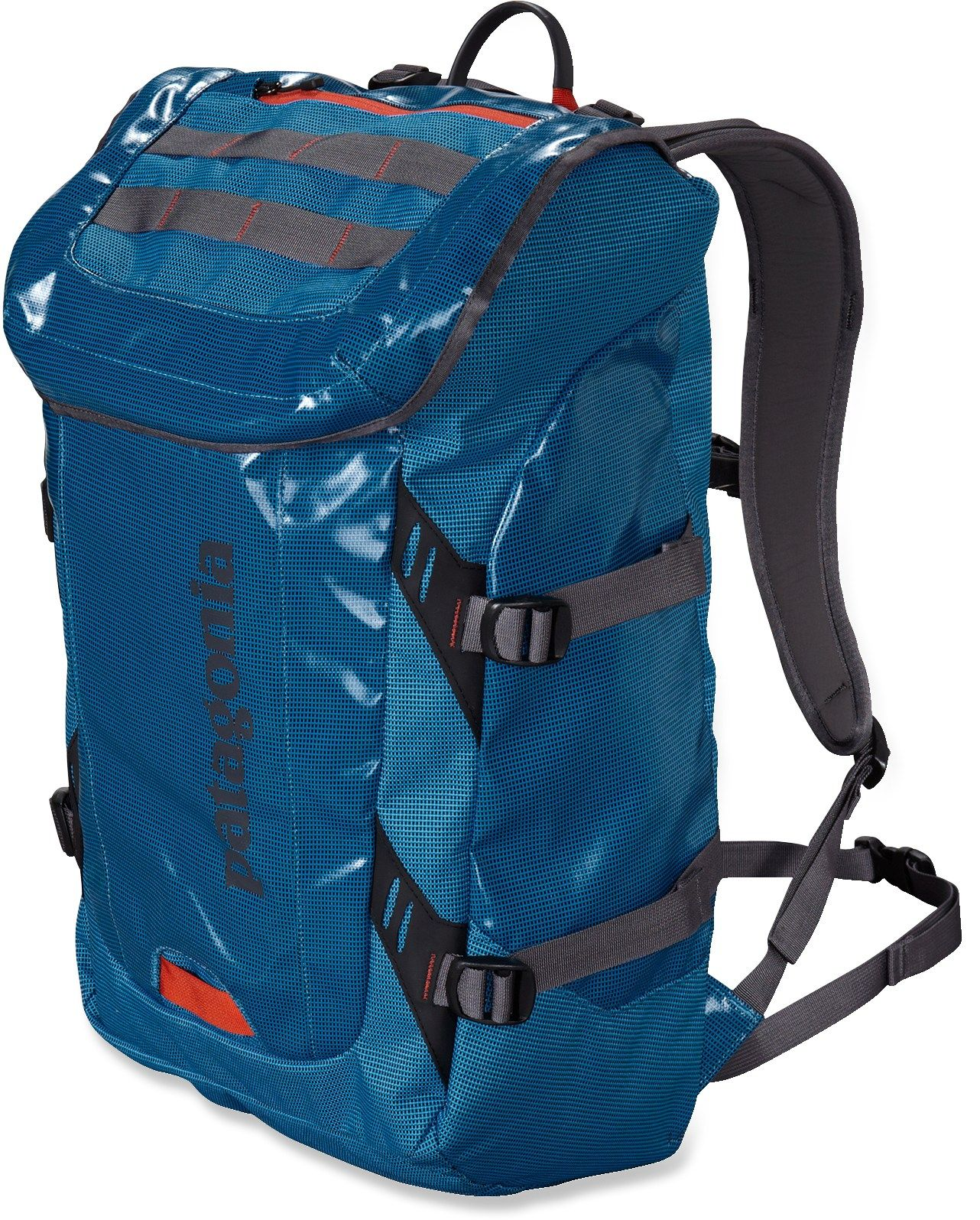The Patagonia Black Hole daypack is a highly water-resistant, super ...