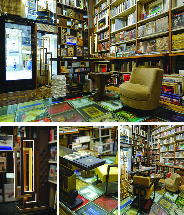 """Milan : a new home for Oasis style  Far from the cold remote atmospheres present in many interiors showrooms, Oasis have chosen to combine those key elements of style, culture, tradition and elegance. From October 2016, Oasis have selected the historical Libreria Bocca in Galleria Vittorio Emanuele II, the so-called """"drawing room"""" of Milan, as the perfect location to display items from their collections, resulting in a coming together of two areas of Italian supremacy: culture and style."""