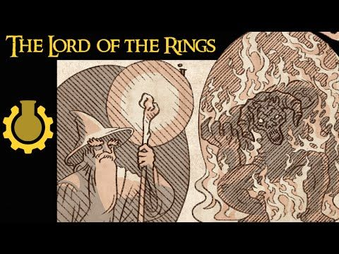 The Lord of the Rings Mythology in a Nutshell (With images ...