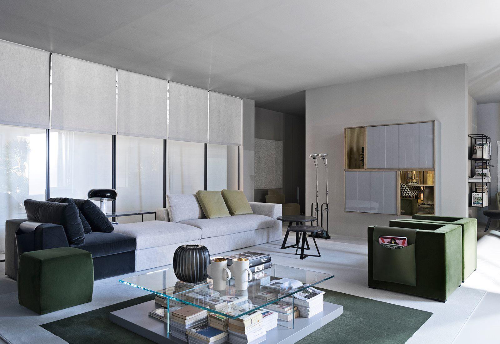 Meridiani Mobili ~ Salone del mobile meridiani mobilier living