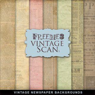Far Far Hill: Freebies Vintage Newspaper Backgrounds Kit