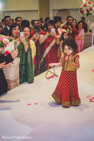 5ac5f37e164 Gorgeous Indian Flower girl. http   www.maharaniweddings.com gallery